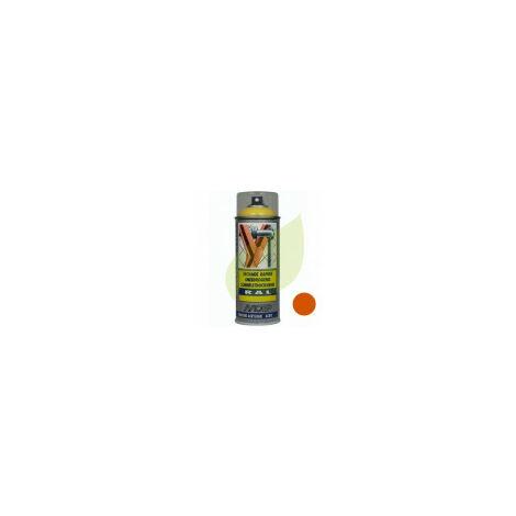 Bombe de peinture orange OLEO MAC KUBOTA aérosol 400 ml