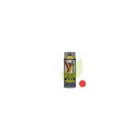 Bombe de peinture rouge WOLF aérosol 400 ml