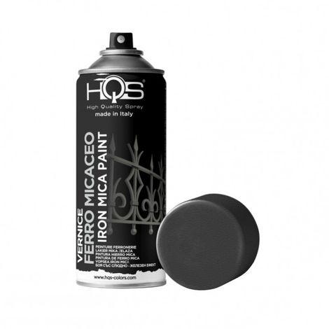 Bombe de peinture specialite noir ferronnerie