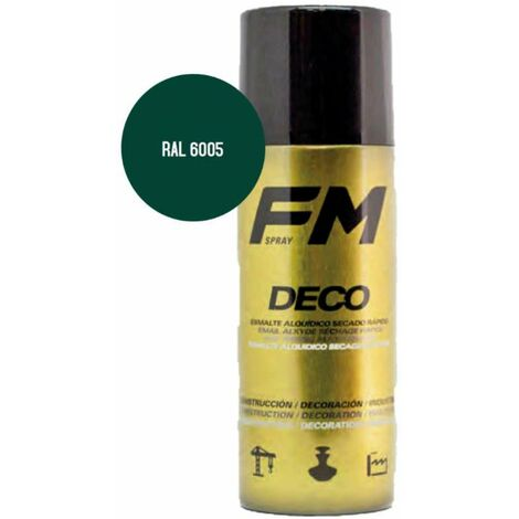 Bombe de peinture vert 400ml Vert jaune - RAL 6018