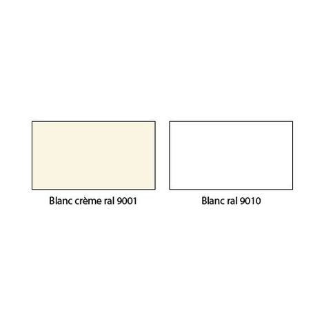 Bombe peinture Blanc crème pour radiateur