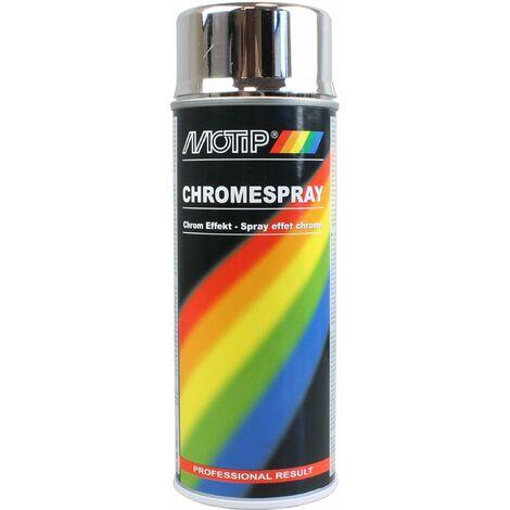 Bombe peinture chromé, 400ml (M04060) - Motip