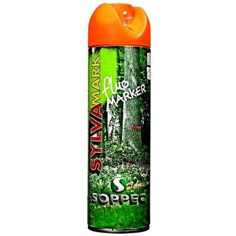 Bombe peinture forestiere orange