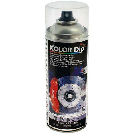 Bombe vernis etrier acrylique brillant resistant a la chaleur KolorDip