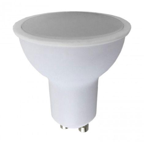 Bombilla 6W GU10 PVC blanco LED