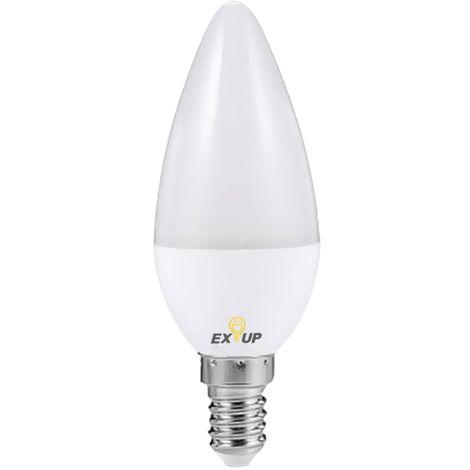 Bombilla 7W AC110-130V 11 de luz LED, E14, blanco calido