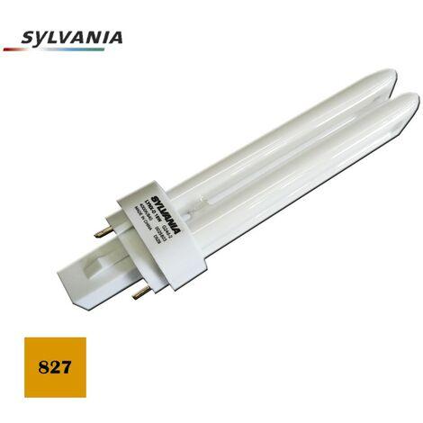 BOMBILLA BAJO CONSUMO LYNX D-26W 827K LUZ CALIDA SYLVANIA
