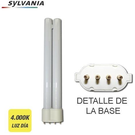 Bombilla Bajo Consumo Pl-S 9W 840K Luz Dia Casquillo 2G7 4 Pin ''Sylvania'' - NEOFERR