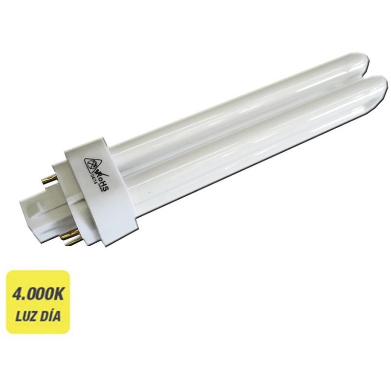 Bombilla Bajo Consumo Pld-4 4 Pin 26W 4000K Luz Fria - NEOFERR..