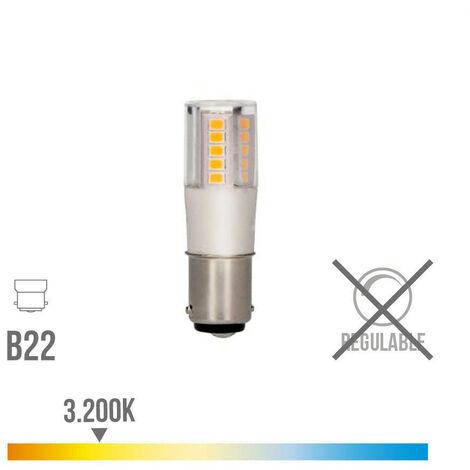BOMBILLA BAYONETA LED 5.5W 3200K 230V 650LUMENS BASE CERAMICA EDM - NEOFERR