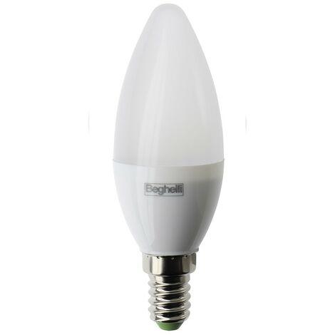 Bombilla Beghelli de Oliva LED E14 5W 6500K luz blanca 56982