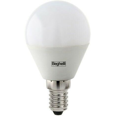 Bombilla Beghelli LED Esfera E14 5W 6500K luz blanca 56987