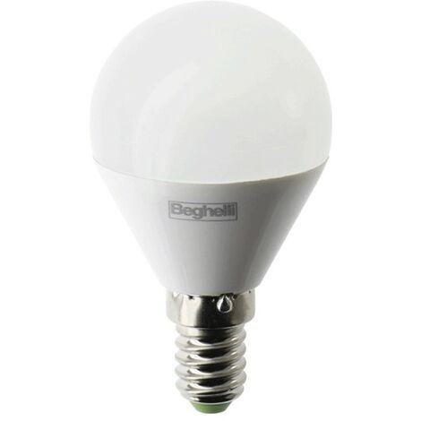 Bombilla Beghelli LED Esfera E14 5W blanco natural 4000K luz 56986