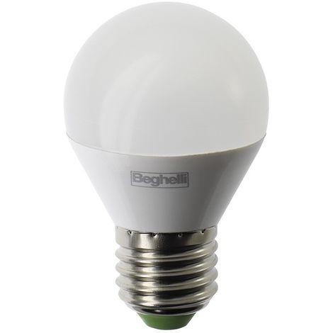Bombilla Beghelli LED Esfera E27 3.5 W 6500K luz blanca 56974