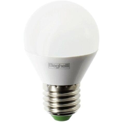Bombilla Beghelli LED Esfera E27 5W 6500K luz blanca 56992