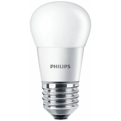 Bombilla Bola Led de Philips 3.5 W E27 2700K CORELUS25