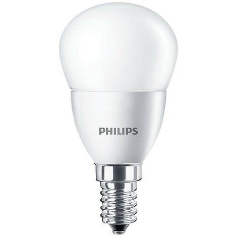 Bombilla Bola Led de Philips 5.5 W E14 4000K CORELUS40840