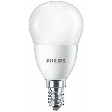 Bombilla Bola Led de Philips 5.5 W E14 6500K CORELUS40865
