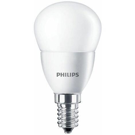 Bombilla Bola Led de Philips E14 3.5 W 4000K CORELUS25840