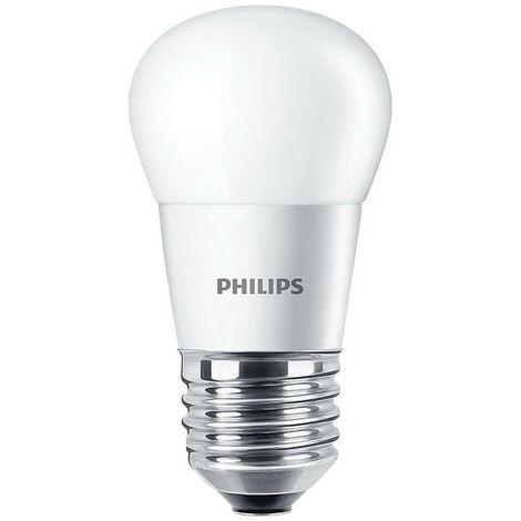 Bombilla Bola Led Philips de 7W E27 4000K CORELUS60840