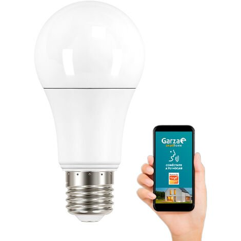 Bombilla CCT Wifi Garza Smart Home E27