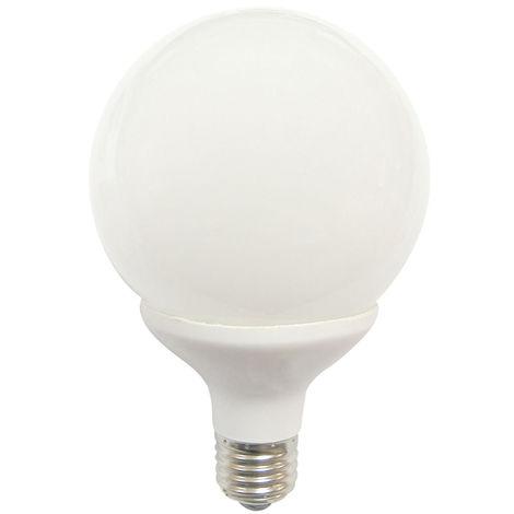 Bombilla CFL Bajo Consumo Globo E27 25W 1420lm 6400K Economiklas