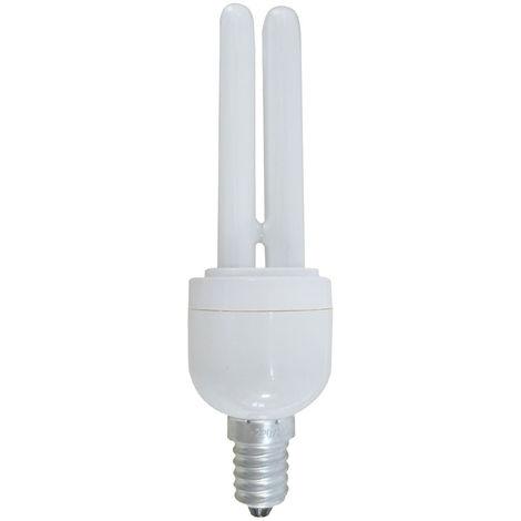 Bombilla CFL Bajo Consumo Mini 2U E14 11W 528lm 2700K 7hSevenOn