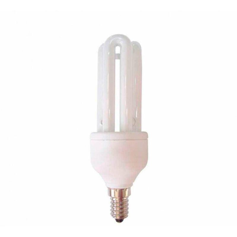 Bombilla CFL Bajo Consumo Mini 3U E14 11W 605lm 2700K 7hSevenOn