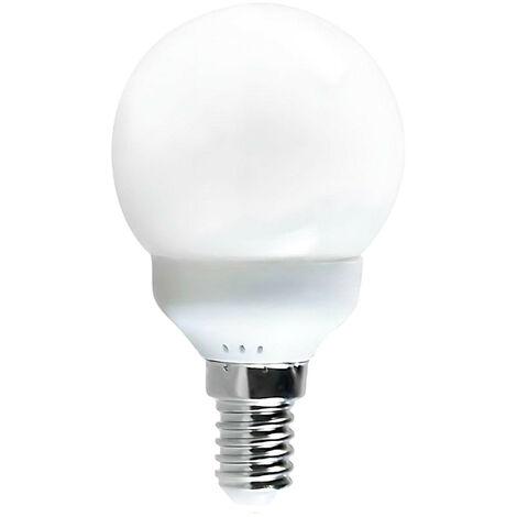 Bombilla CFL Bajo Consumo Mini Globo E14 7W 385lm 2700K 7hSevenOn