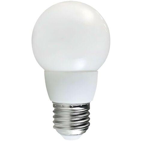 Bombilla CFL Bajo Consumo Mini Globo E27 8W 360lm 2700K Economiklas