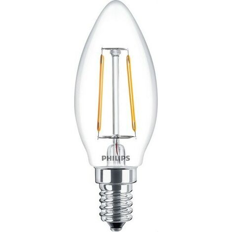 Bombilla CLA LEDCandle ND 2W B35 E14 827 CL PHILIPS 57407200