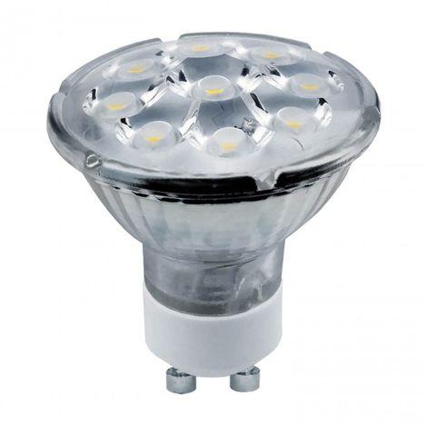 Bombilla cristal óptico LED GU10 7W