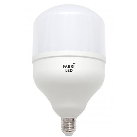 Bombilla de alta potencia con luz neutral 56w E27 fabriled - Blanco