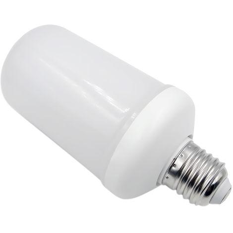 Bombilla de efectos de llama, SMD2835 Lampara decorativa de ambiente, E26