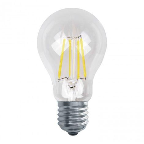 Bombilla de filamento LED decorativa A60 E27 10W 3000K