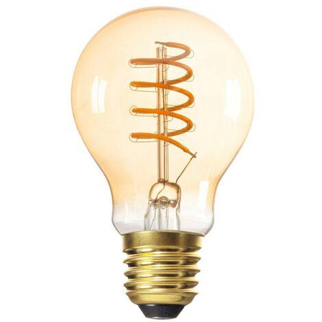 Bombilla de filamento LED vintage ámbar E27 5W Filamento 1800K