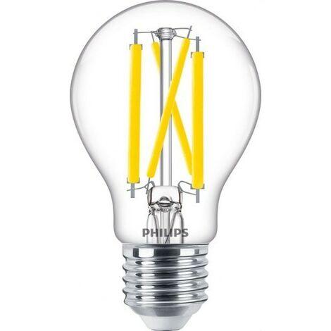 Bombilla de led de filamento 11,5W E27 CRI90 A60CL PHILIPS 77096900