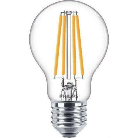 Bombilla de led de filamento estándar 6,5W 10,5W A60 E27 827 CL PHILIPS 64910400