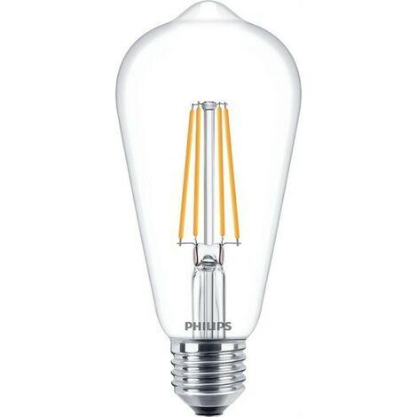 Bombilla de led de filamento pera 7W E27 ST64 CL PHILIPS 74275400