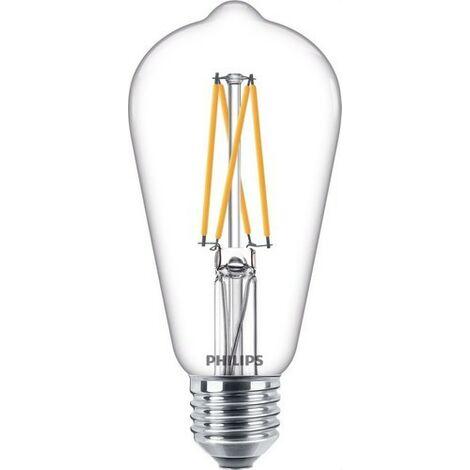 Bombilla de led de filamento pera 9W E27 CRI90 ST64 CL PHILIPS 64652300