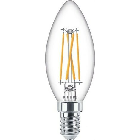 Bombilla de led de filamento vela 3,2W E14 CRI90 B35CL PHILIPS 77058700