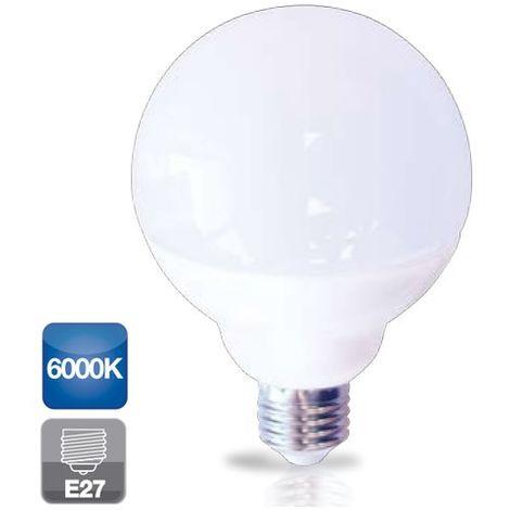 Bombilla de led de globo 12W E27 luz fría 6000K 860lm GSC 2002326