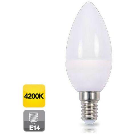 Bombilla de led de vela E14 5W luz día 4200K 470 lm GSC 2002348
