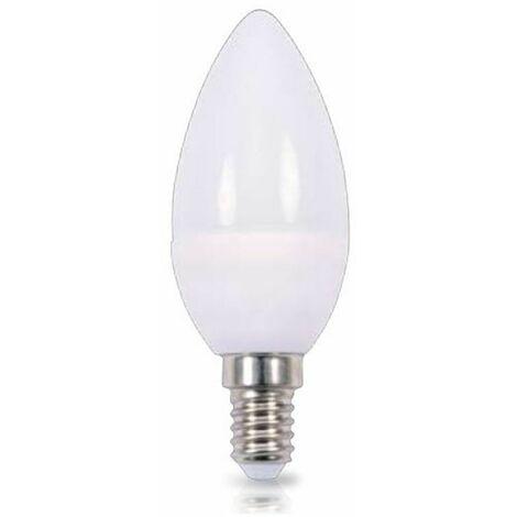 Bombilla de led de vela E14 6W luz día 4200K 560 lm GSC 2002371