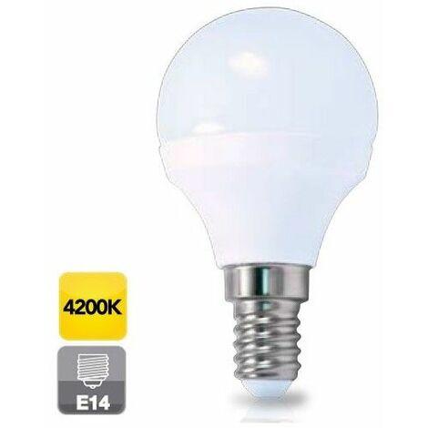 Bombilla de led esférica E14 5W luz día 4200K 470 lm GSC 2002346