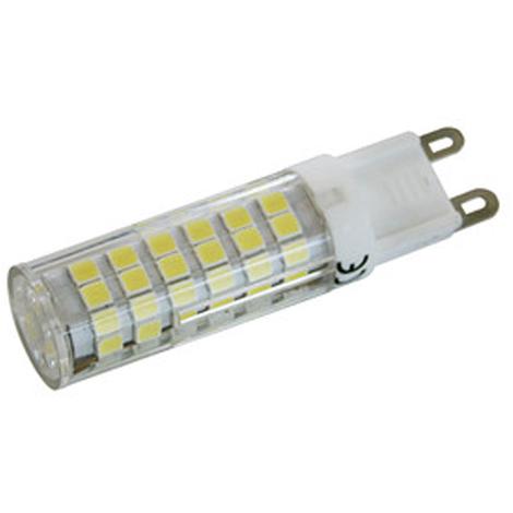 Bombilla de LED G9 Electro DH, potencia 6 W, color blanco día, 6500 K, 560 lumens, clase A+, 81.587/6/DIA