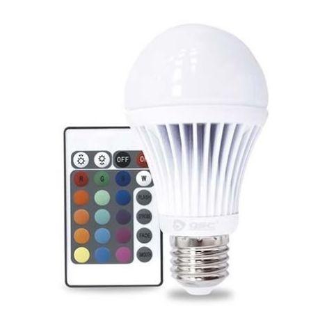 Bombilla de led multicolor RGB 3.5W E27 estándar GSC 2003507