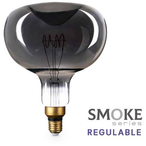 Bombilla de led Vintage Smoke manzana XL 8W E27 2700K regulable GSC 200605003