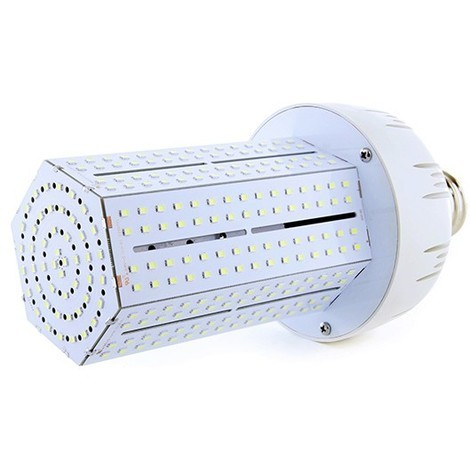 Bombilla de LEDs E40 Bridgelux Alumbrado Público 360º 80W 8800Lm 30.000H   Blanco Frío (MYM-80-03-CW)