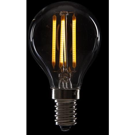 Bombilla de LEDs Filamento Vintage G45 E14 4W 400Lm [WO-LF-G45-E14-4W-WW] | Blanco Cálido (WO-LF-G45-E14-4W-WW)